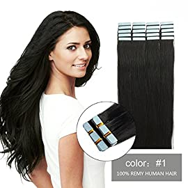 SHOWJARLLY Tape In Hair Extensions