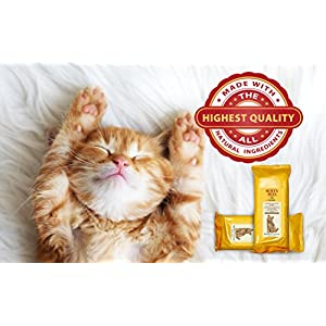 Burt's Bees Dander Reducing Wipes for Cats | Best Grooming Wipes for All Cats and Kittens