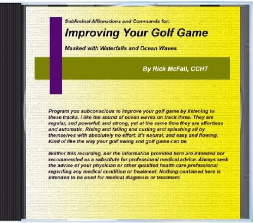 Price comparison product image Improving Your Golf Game: Subliminal Nature Sounds and Affirmations to Change Your Life