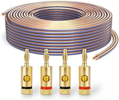 PureLink SP020-010 Cable de altavoz 2 x 4.0 mm² (99.9% OFC cable ...
