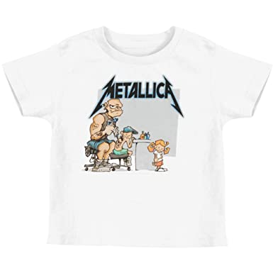 584de9668 Amazon.com: Metallica Little Boys' Tattoo Toddler Tee Childrens T ...