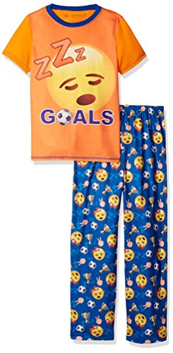 Sleep Emoji Boys Pajama Set - Varied Sizes