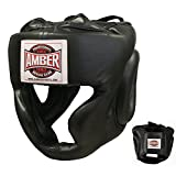 Amber Fight Gear Extreme Full Face Headgear Small