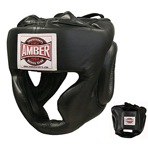 Amber Fight Gear Extreme Full Face Headgear X-Large by Amber Fight Gear