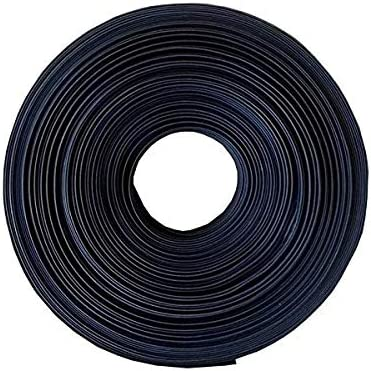 REFURBISHHOUSE Tube thermoretractable noir Enveloppe de tube de gaine thermoretractable pour cable//fil electrique de voiture 1M 25MM