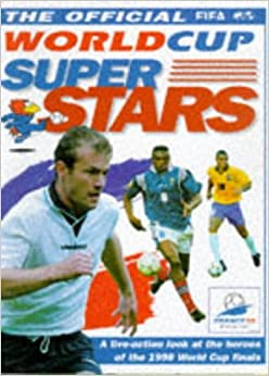 Book World Cup France 98 Superstars (World Cup France Official Fifa)