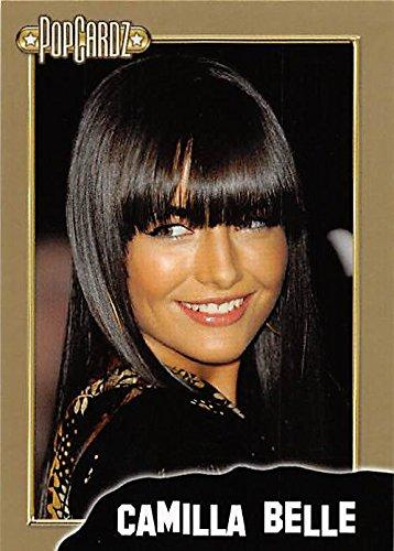 Camilla Belle trading card (Actress) 2008 Popcardz GOLD #36 -  Autograph Warehouse