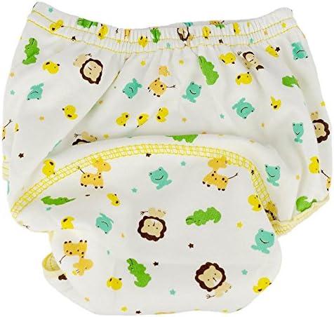 Tongchou 6pcs Culotte dapprentissage Coton pour Bebe Fille Garcon Taille 80
