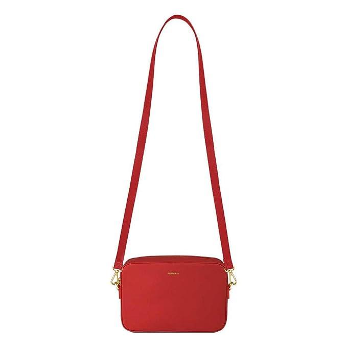 scarpe di separazione 4f4fe e2358 Pomikaki Elisabetta donna, borsa a tracolla, rosso, One size ...
