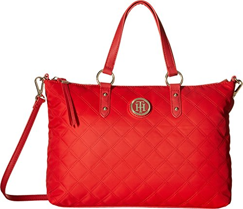 Tommy Hilfiger Womens Quilted Convertible