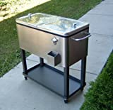 Stainless Steel Outdoor Beverage Cooler