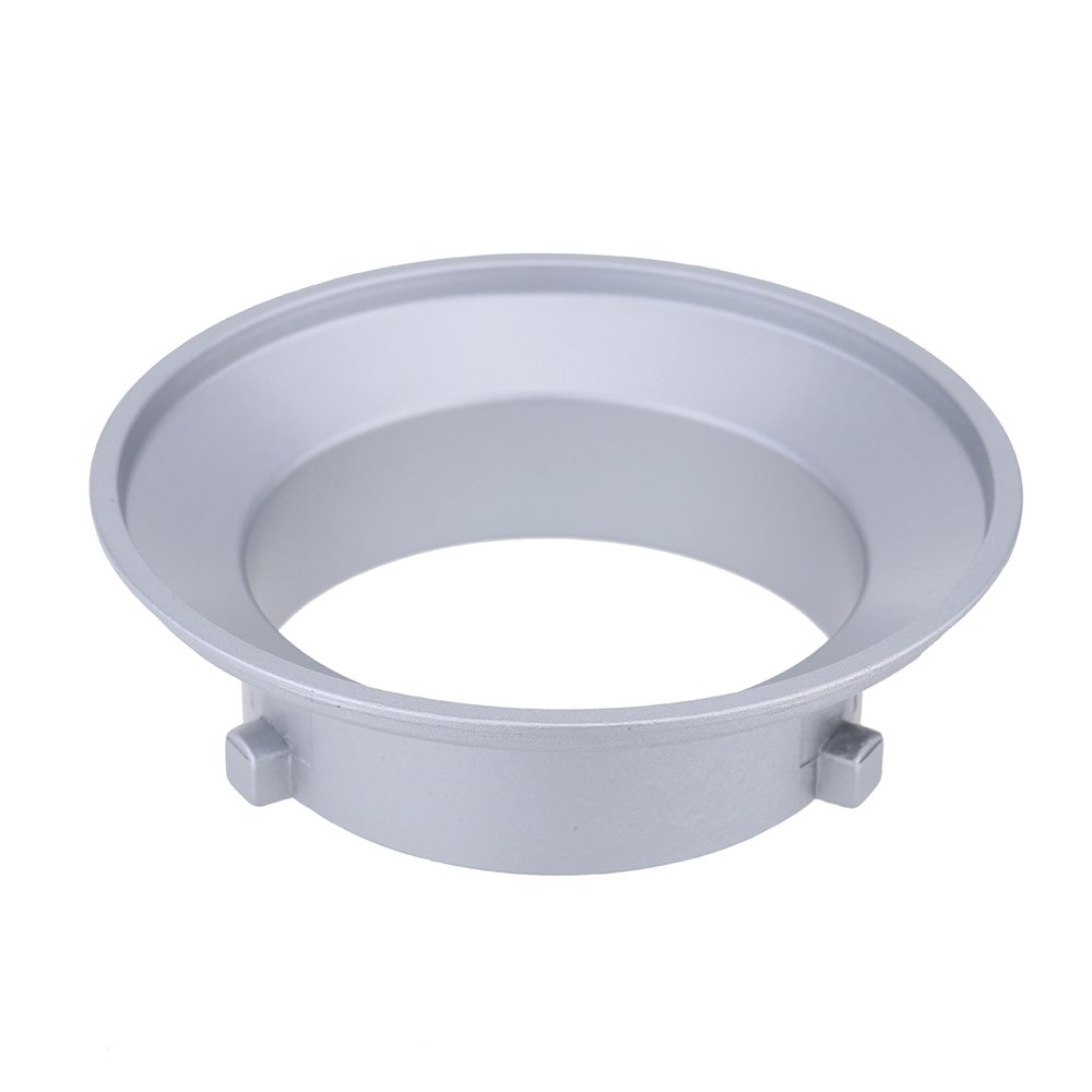 Andoer SA-01-BW 144mm Diameter Mounting Flange Speedring Ring Adapter for Flash Accessories Fits for Bowens Godox 091757