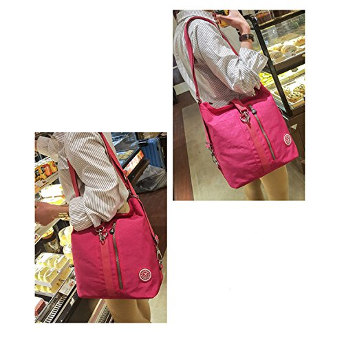 Cross Shoulder Bag Body Bag Red Bag Women Messenger Side Lightweight Fashion Casual Bag 1 Waterproof for Foino Travel wq1SPxpCx