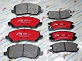 NEW 2 Sets Front & Rear Brake Pads Mitsubishi Eclipse Galant D866 & D383