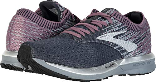 Brooks Women's Ricochet Black/Grey/Arctic Dusk 10.5 B US