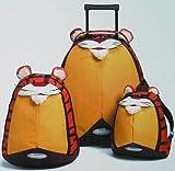 Samsonite Sammies Tiger 3 Piece Upright Roller and Backpack
