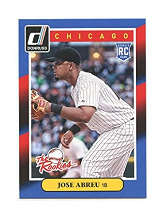 2014 Donruss The Rookies 17 Jose Abreu Chicago White Sox