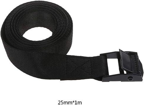 6 stücke Schnalle Binden Nylon Strap Cargo Lash Gepäcktasche Gürtel