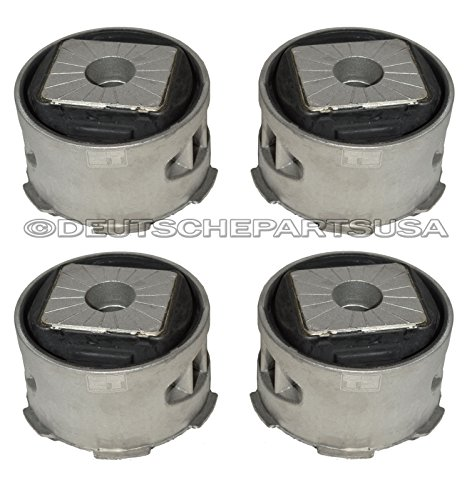FRONT SUBFRAME BUSHING MOUNT MOUNTS FOR PORSCHE CAYENNE 95534113301 Set of 4