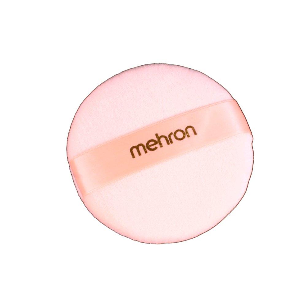 Mehron Makeup Round Professional Makeup Powder Puff, 4.75 4.75