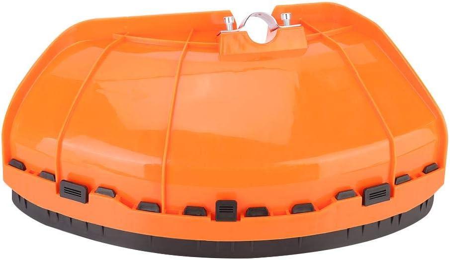 26mm/28mm Kit de cortacésped con Cubierta Protectora para cortacésped Cortadora de césped de plástico Recortadora con Protector a Prueba de Polvo Accesorio para Cubierta roja