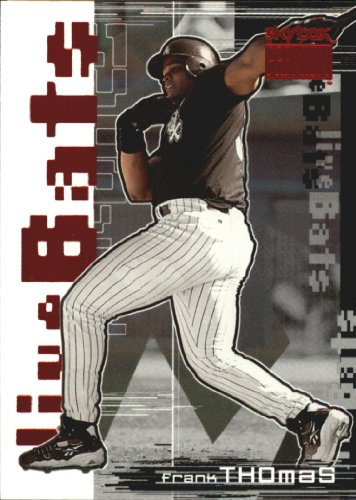 1999 SkyBox Premium Live Bats Baseball Card #4 Frank Thomas from SkyBox Premium Live Bats Baseball Card