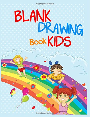 Blank Drawing Book Kids: 8.5 x 11, 108 Lined Pages (diary, notebook, journal, workbook)