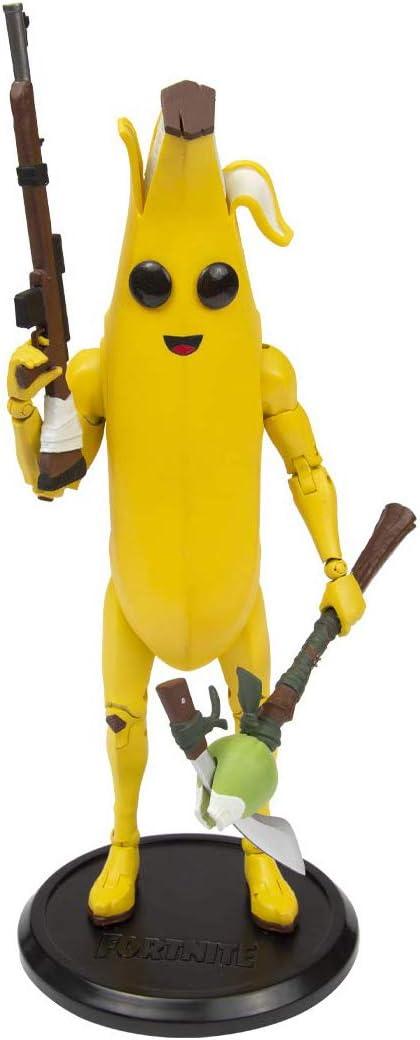 McFarlane Toys Fortnite Peely Premium Action Figure, Multi