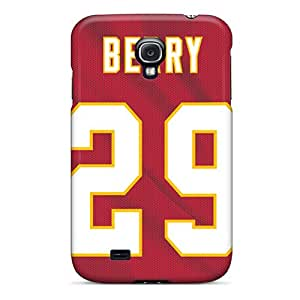 For Galaxy S4 Tpu Phone Case Cover(kansas City Chiefs)
