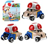 NEW! Hot Wheels Super Mario Bros 1:64 Scale Character Car - TOAD - Great Gift for Any Hot Wheels Fan