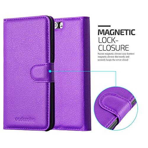 Cadorabo - Funda >                                              Huawei P10                                              < Book Style de Cuero Sintético en Diseño Libro