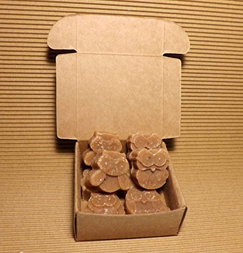 Goat Milk Soap, Set of 8, Hazelnut Toffee, 2.25 oz ()