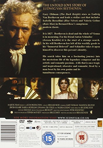 what is the movie all about immortal beloved