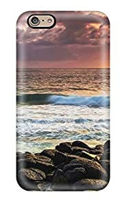 Awesome Sunset Flip Case With Fashion Design For Iphone 6
