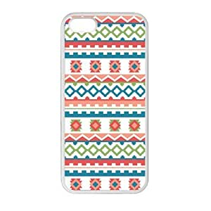 Aztec Colorful Pattern Bohemian Style Chevron Design Custom Luxury Cover Case with Best Plastic for HTC Desire 816 by ruishername