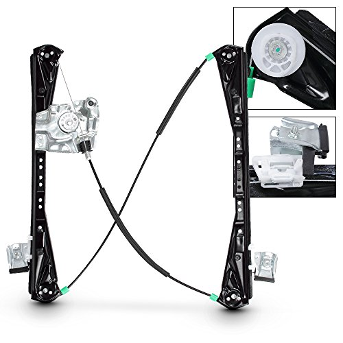 For New Front Driver Left Side Power Window Regulator w/o Motor For 2000-2002 Lincoln LS Jaguar S-Type by AKKON