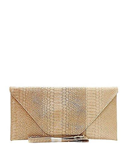 Snake Skin Handbag - 7