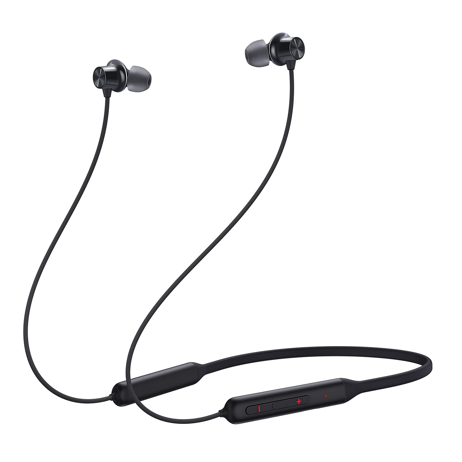 OnePlus Bullets Wireless Z Bass Edition (Bold Black)