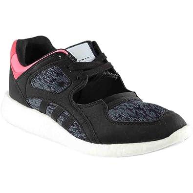 low priced 5a022 ae1cb adidas Equipment Racing 9116 Womens Shoe Core BlackTurboWhite ba7589 (