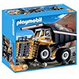Playmobil 4037 Transport Set: Heavy Duty Dump Truck