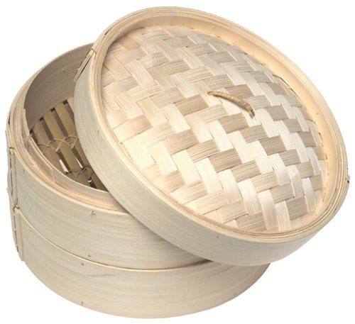 Norpro Deluxe 3 Piece Bamboo Steamer