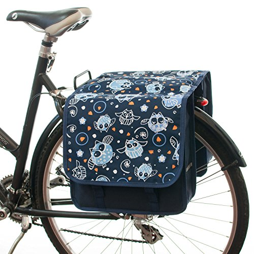 Beluko Long Double Panniers Bag Fashion Bicycle Cycle Bike Women's - Mens...