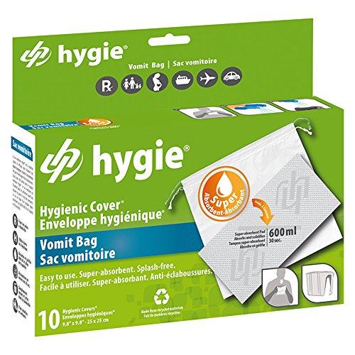 hygie - Bolsa para vómito 10 piezas: Amazon.es: Salud y ...