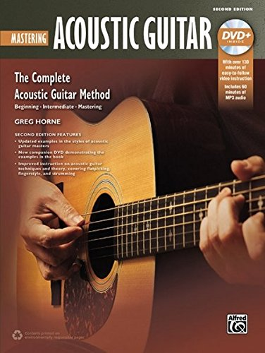 Complete Acoustic Guitar Method: Mastering Acoustic Guitar, Book & DVD (Complete Method)