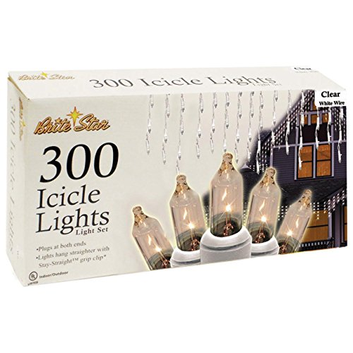 300 Count Led Icicle Lights