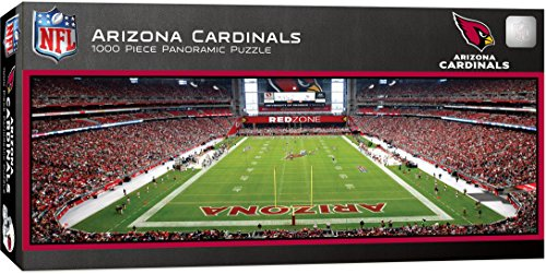 MasterPieces NFL Arizona Cardinals 1000 Piece Stadium Panoramic Jigsaw Puzzle