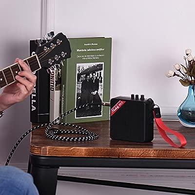 Kalaok MS-5 Mini amplificador portátil de guitarra Amplificador de ...