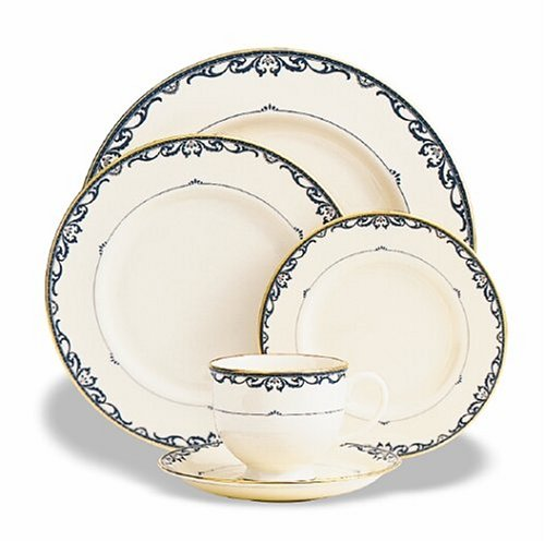 - Lenox Liberty Gold Banded 5-Piece Place Setting, Service for 1