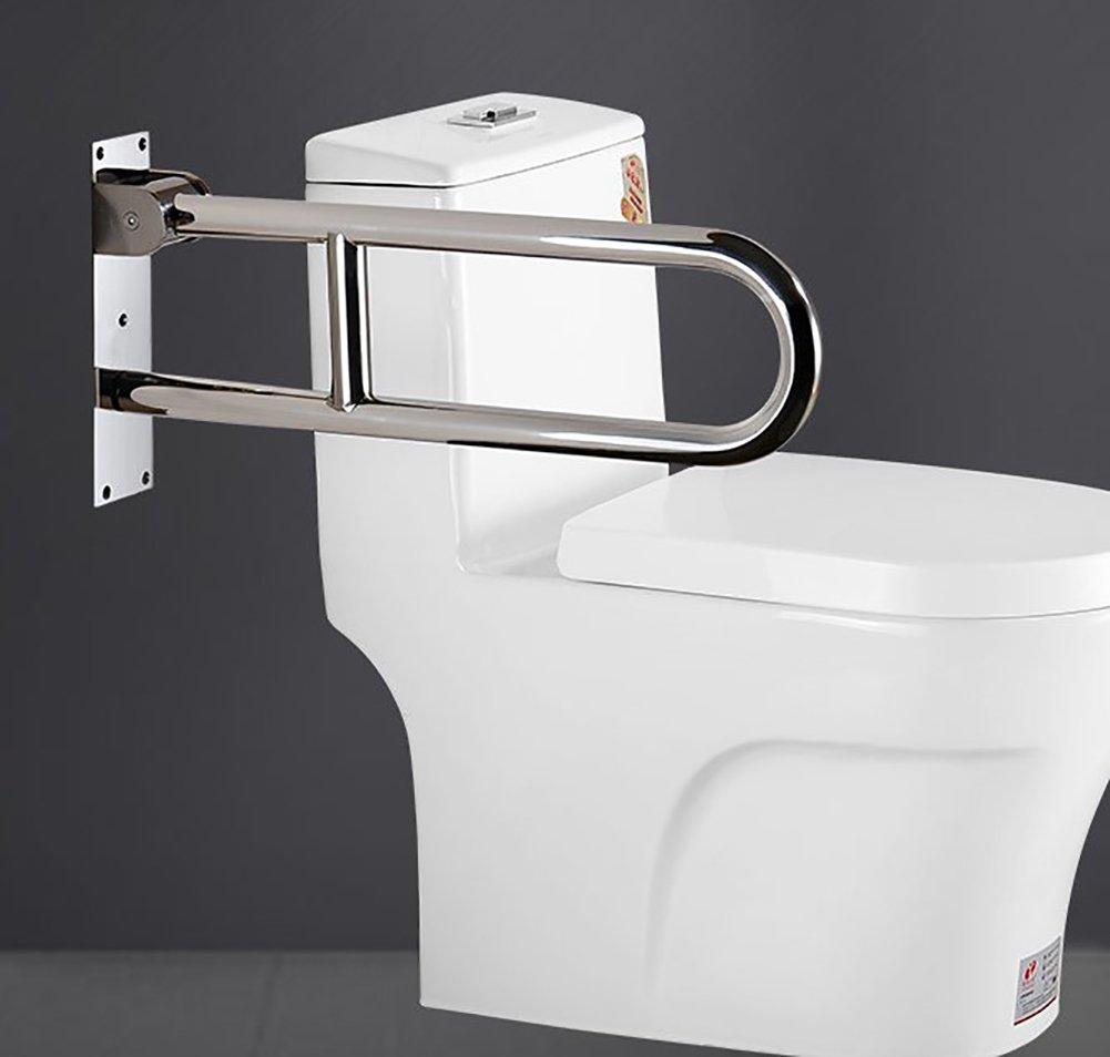 本物保証!  YYSXZY バスルームの手すり、 壁掛け式 シルバー 折り畳み手すり、 しるば゜ ホームホテル ファッションハイエンド 壁掛け式 高齢者/妊婦 滑り止めレール、 ステンレス鋼、 シルバー (色 : シルバー しるば゜) シルバー しるば゜ B07FNTKZCV, AppleCloth:47b0dc91 --- ciadaterra.com