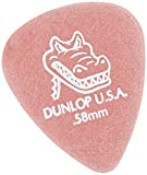 Dunlop 417P.58 Gator Grip, Red, .58mm, 12/Player\'s Pack